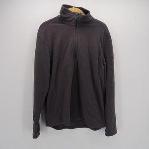 Eddie Bauer Half Zip Turtle Neck Sweater Jacket